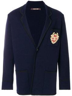 пиджак с нашивкой Roberto Cavalli