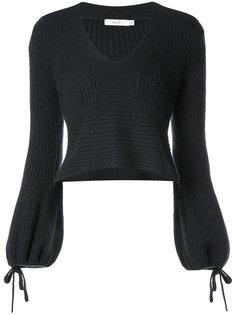укороченный свитер в рубчик A.L.C.