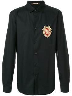 рубашка с аппликацией Roberto Cavalli