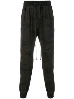 камуфляжные спортивные брюки Daniel Patrick