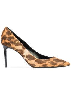 леопардовые туфли Anja Saint Laurent