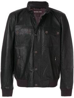 байкерская куртка с панельным дизайном Michael Kors