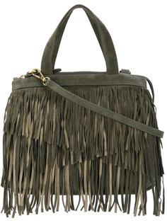 сумка-тоут с бахромой Cotélac