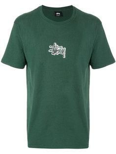 футболка с логотипом Stussy