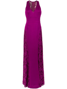 lace panelled gown Tufi Duek