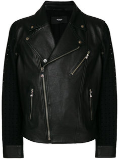 куртка-бомбер с перфорацией Versus
