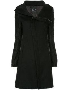 пальто на молнии Fagassent