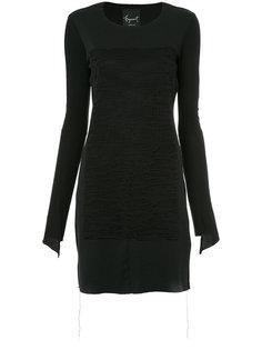 платье с панельным дизайном Fagassent