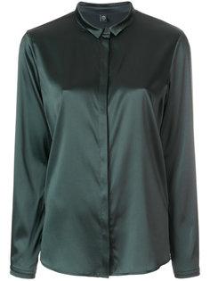 рубашка со скрытой пуговичной планкой Eleventy