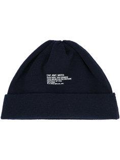 трикотажная шапка N. Hoolywood