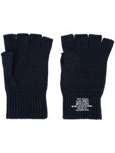 трикотажные перчатки-митенки N. Hoolywood