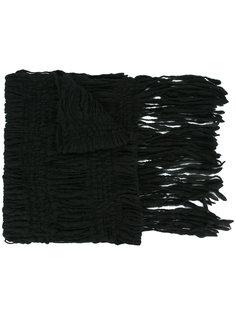 трикотажный шарф крупной вязки Fagassent