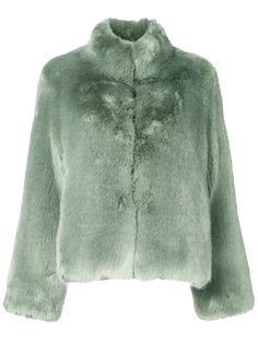 короткая меховая куртка Venus