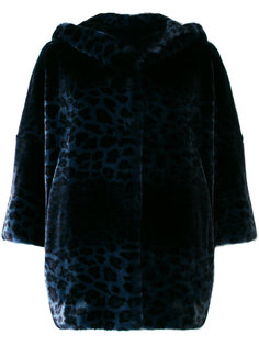 куртка с капюшоном и леопардовым узором Venus