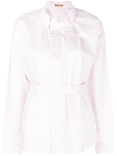 рубашка с поясом на талии Nehera