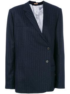 пиджак в тонкую полоску Nehera