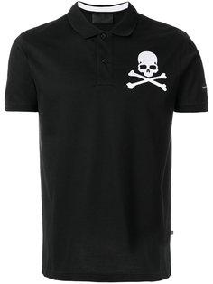 футболка-поло с черепом Philipp Plein