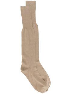 носки с отделкой в рубчик  Fashion Clinic Timeless