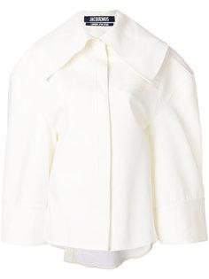 рубашка с широким воротником Jacquemus