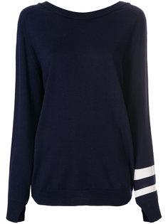 свитер с V-образным вырезом на спине Erika Cavallini
