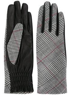 твидовые перчатки  Paule Ka