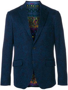 пиджак с узором пейсли Etro