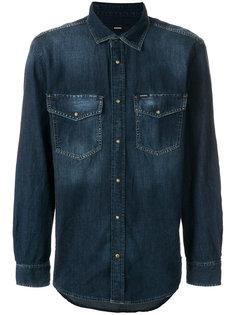джинсовая рубашка D-Rooke Diesel