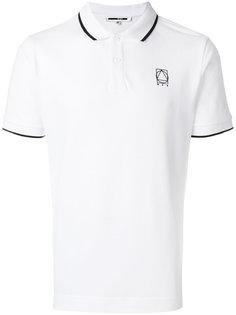 классическая рубашка-поло с короткими рукавами McQ Alexander McQueen