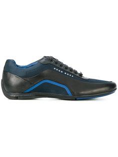 кроссовки с контрастной панелью Boss Hugo Boss