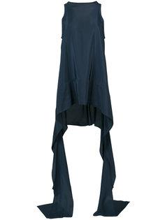 блузка с удлиненными лямками Maticevski