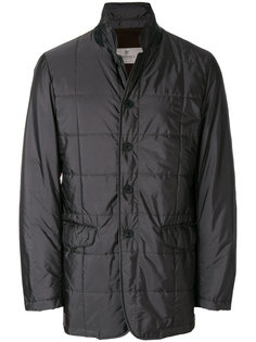 короткое стеганое пальто Canali