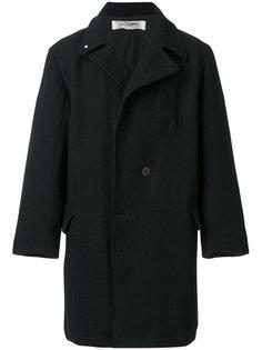 двубортное пальто в стиле оверсайз Individual Sentiments