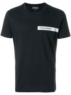 футболка с короткими рукавами Emporio Armani