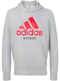 толстовка с принтом логотипа Gosha Rubchinskiy ГОША РУБЧИНСКИЙ