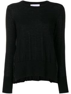 свитер с плиссировкой P.A.R.O.S.H.
