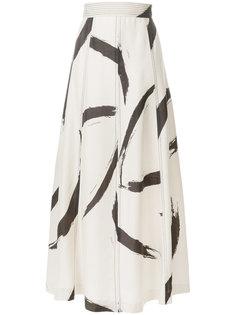 юбка с завышенной талией Zimmermann