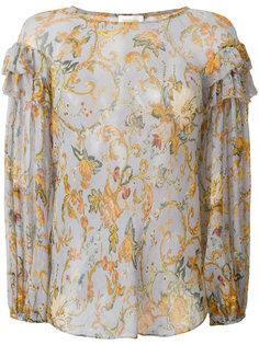 блузка с цветочным принтом Zimmermann