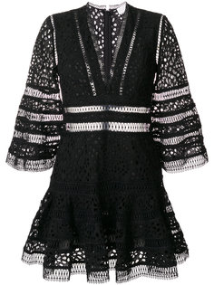 платье с глубоким V-образным вырезом Zimmermann