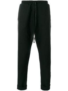 спортивные брюки с заниженным шаговым швом Alchemy
