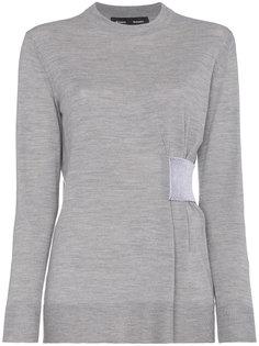 свитер с присборенной деталью Proenza Schouler
