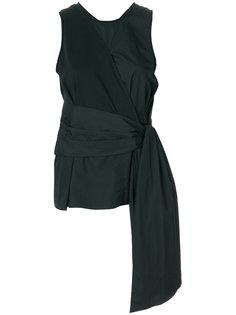 блузка без рукавов с завязкой спереди 3.1 Phillip Lim