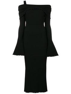 платье с приспущенными плечами Ellery