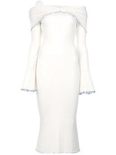 платье Dolly с приспущенными плечами Ellery