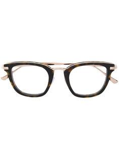 очки кошачий глаз с черепаховой оправой  Tom Ford Eyewear