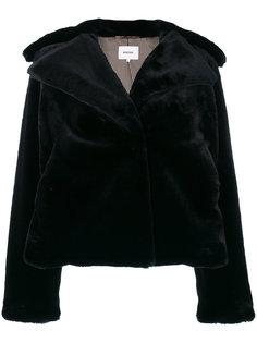 укороченная куртка из искусственного меха  Nanushka