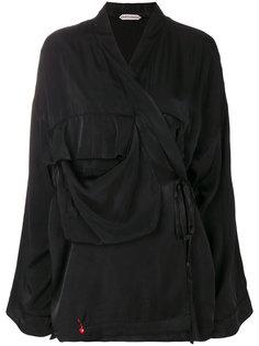 куртка с запахом Giacobino