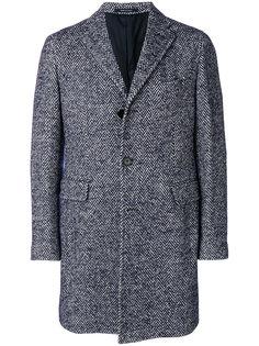 пальто в елочку Tagliatore