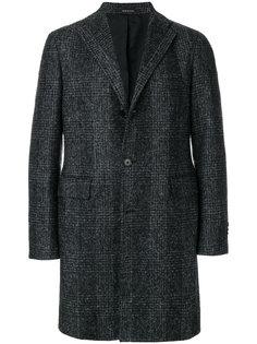 пальто в клетку Tagliatore