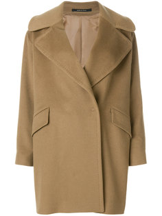 двубортное пальто с широкими лацканами Tagliatore