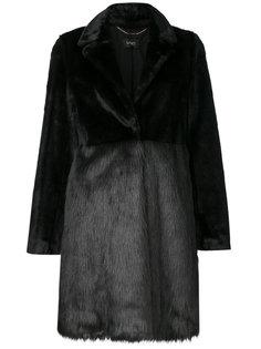 классическое меховое пальто Liu Jo